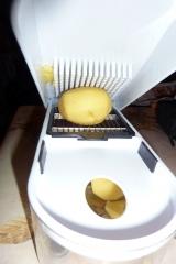 Kartoffeln-Zerteil-Gerät