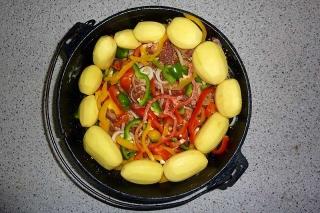 Kartoffeln + Paprika