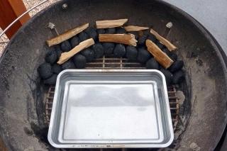 Minion-Ring mit Buchenholz
